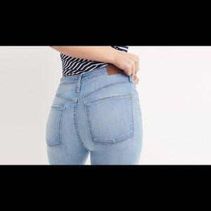 Madewell Midrise Skinny skinny Jeans